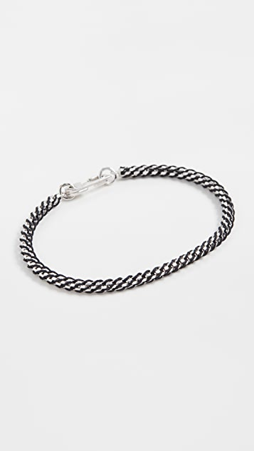 Miansai Annex Braided Chain Bracelet