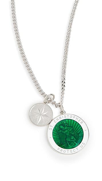 Miansai Saint Christophersurf Necklace