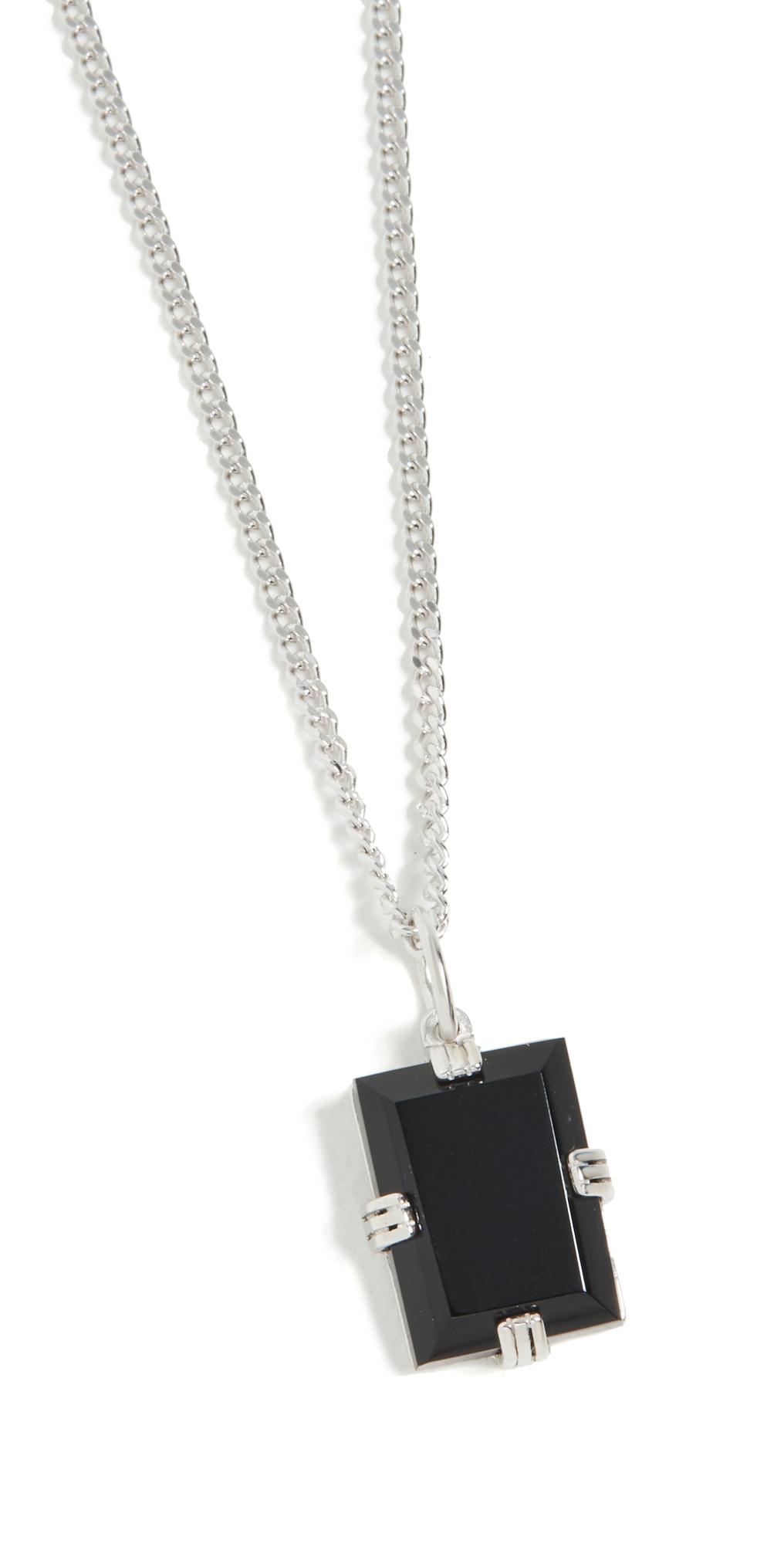 Lennox Onyx Chain Necklace