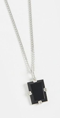 Miansai - Lennox Onyx Chain Necklace