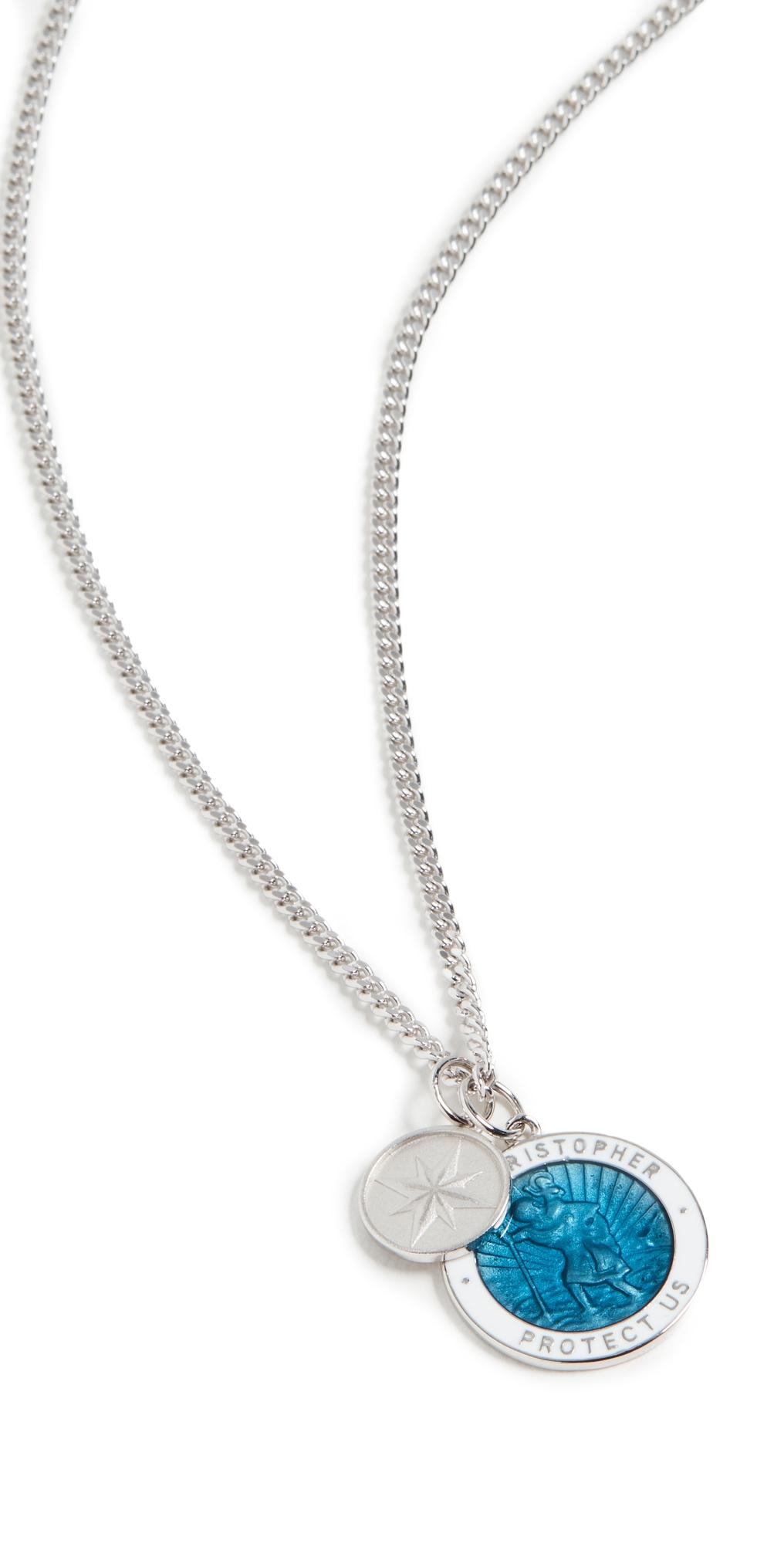 Saint Christopher Surf Necklace