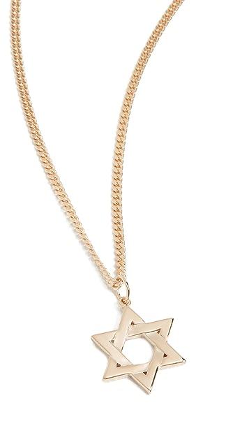 Miansai Star of David Necklace