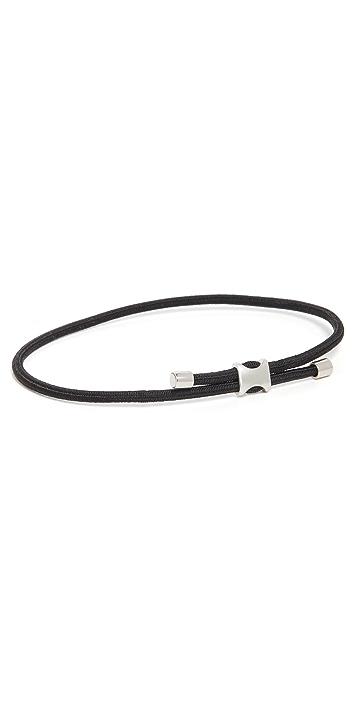 Miansai Orson Pull Bungee Rope Bracelet