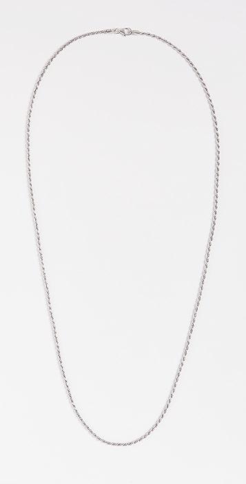 Miansai Rope Chain Necklace