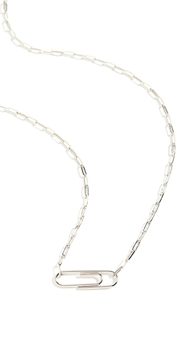 Miansai Volt Link Paper Clip Necklace