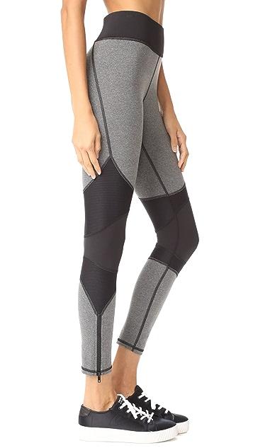 MICHI Moto Zip Leggings