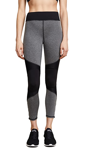 MICHI Moto Zip Leggings