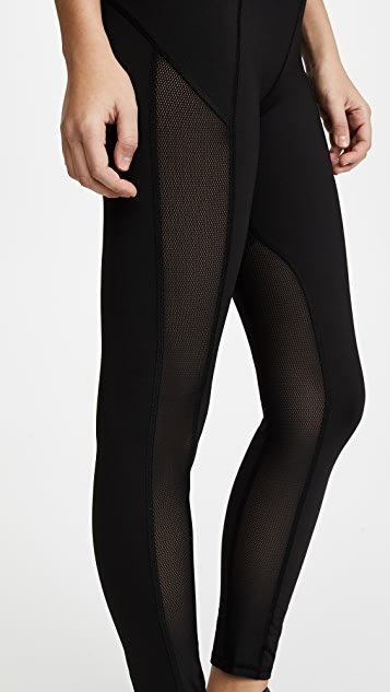 MICHI Summit High Waisted Leggings