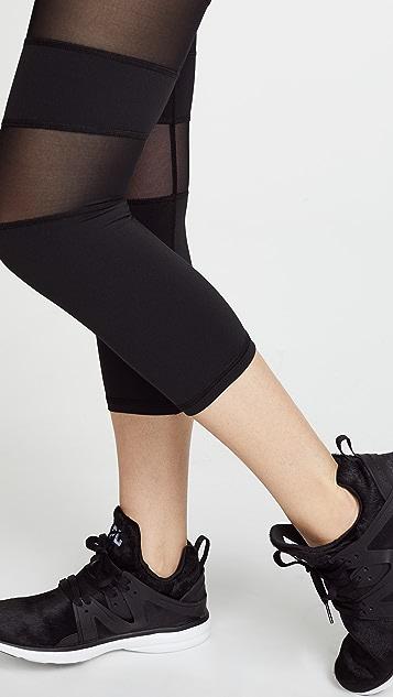 MICHI Psyloque Crop Leggings