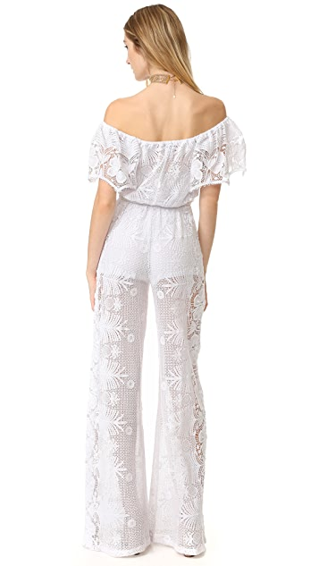 Miguelina Brisa Off Shoulder Jumpsuit