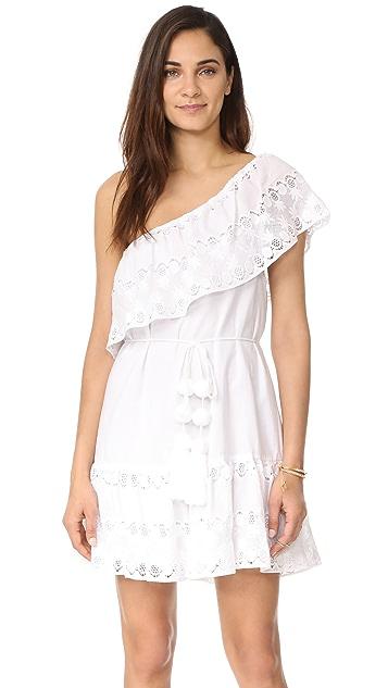 Miguelina Summer One Shoulder Dress