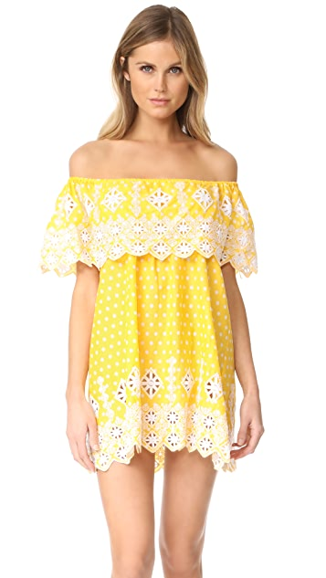 Miguelina Agnes Off Shoulder Dress