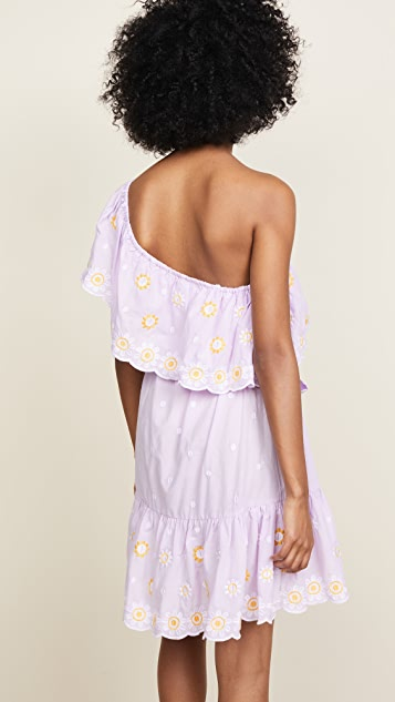 Miguelina Summer One Shoulder Dress