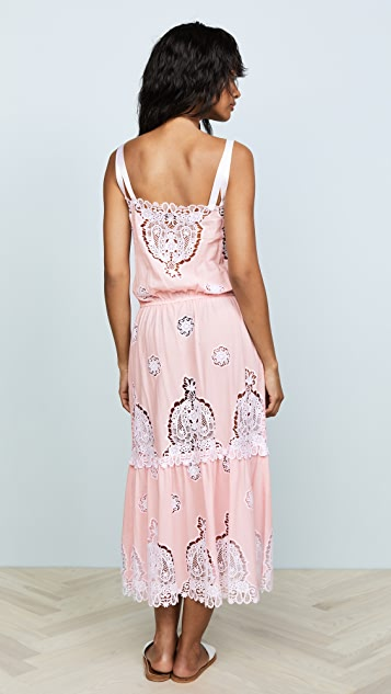 Miguelina Esme Versailles Midi Dress