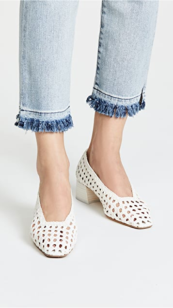 Miista Taissa Block Heel Pumps