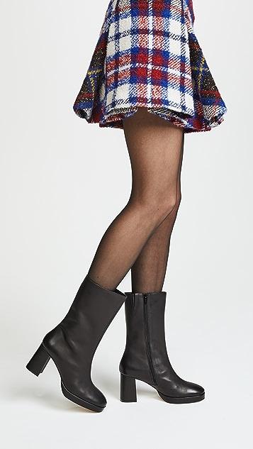 Miista Carlota Block Heel Boots