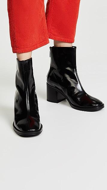 Miista Cybil Block Heel Booties