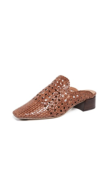 Miista Туфли без задников на квадратном каблуке Ida
