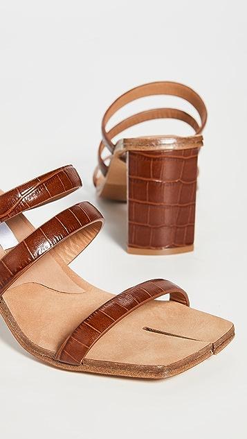 Miista Joanne Clay Croc Sandals