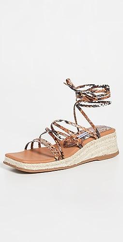 Miista - Kathryn Espadrille Lace Up Sandals