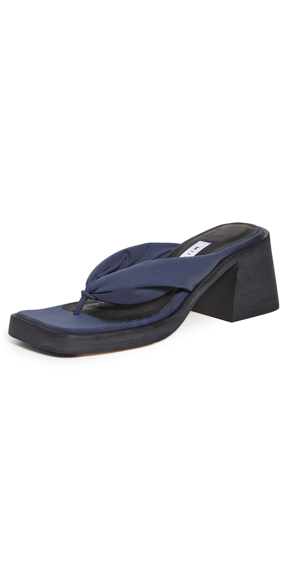 April Heeled Thong Sandals