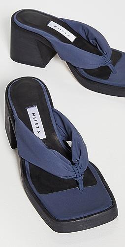 Miista - April 高跟夹趾凉鞋