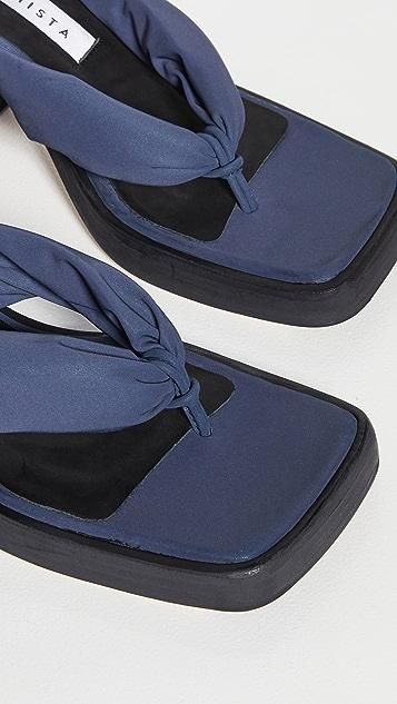 Miista April Heeled Thong Sandals