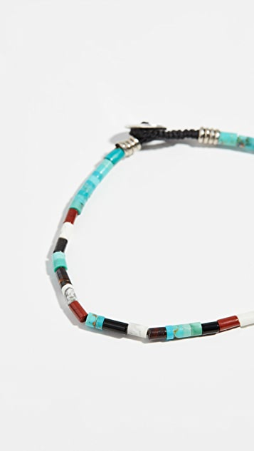 Mikia Arizona Tube Beads Bracelet