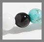 Onyx/Turquoise/Howlite