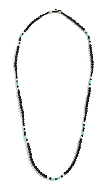 Mikia Multi Beads Necklace