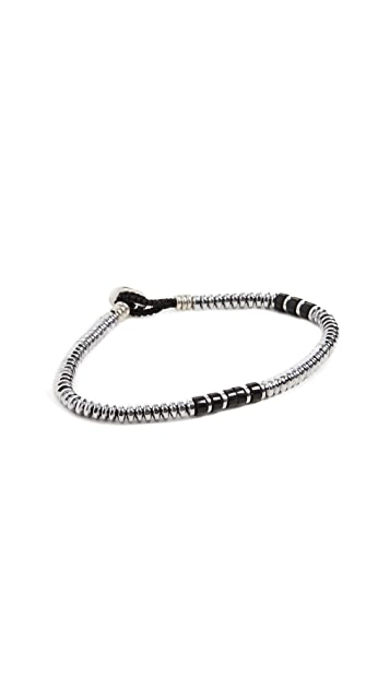 Mikia Hematite Beads Bracelet