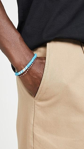 Mikia Snake Beads Bracelet