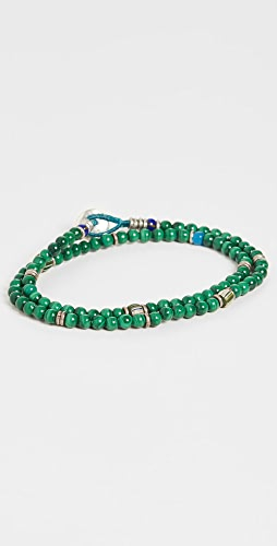Mikia - 4mm Beads Double Wrap Bracelet
