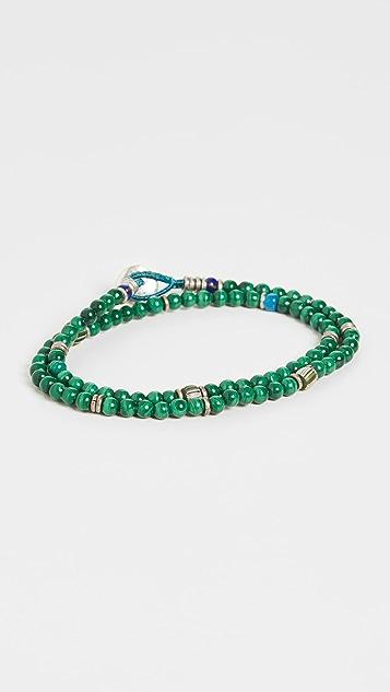 Mikia 4mm Beads Double Wrap Bracelet