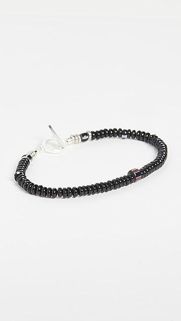 Mikia Roundel Beads Bracelet
