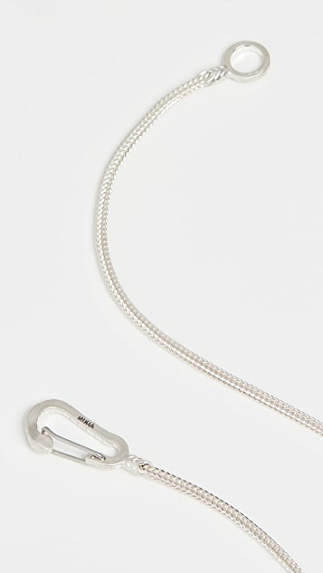 Mikia Snake Karabiner Necklace