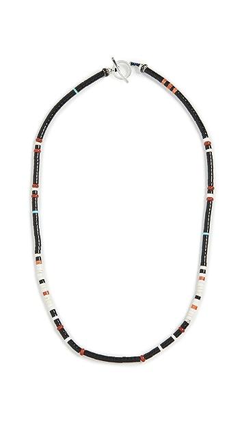 Mikia Tube Stone Necklace
