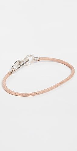 Mikia - Snake Karabiner Bracelet