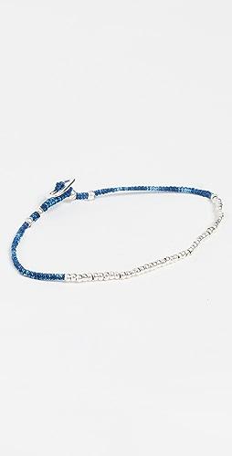 Mikia - Small Silver Beads Bracelet