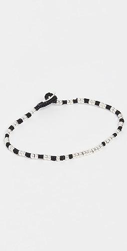 Mikia - Silver Beads Bracelet
