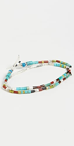 Mikia - Tube Double Wrap Bracelet