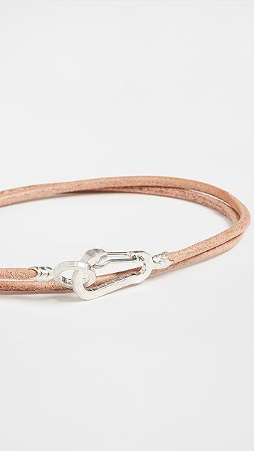 Mikia Snake Karabiner Bracelet