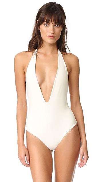 MIKOH Hinano Halter Swimsuit