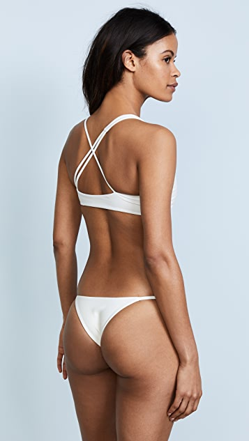 MIKOH Belize Triangle Bikini Top