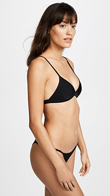 MIKOH Belize Triangle Bikini Top
