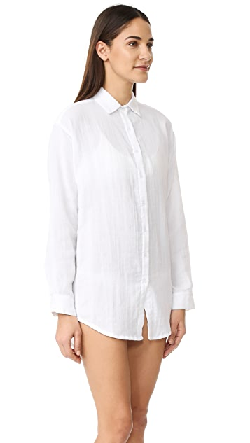 MIKOH Montauk Button Tunic