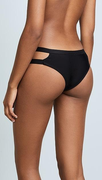 MIKOH Honduras Cutout Bikini Bottoms