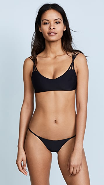 MIKOH Madrid Bikini Top - Night