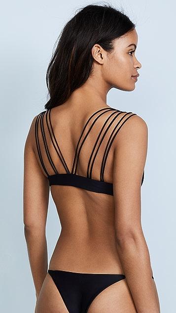 MIKOH Madrid Bikini Top