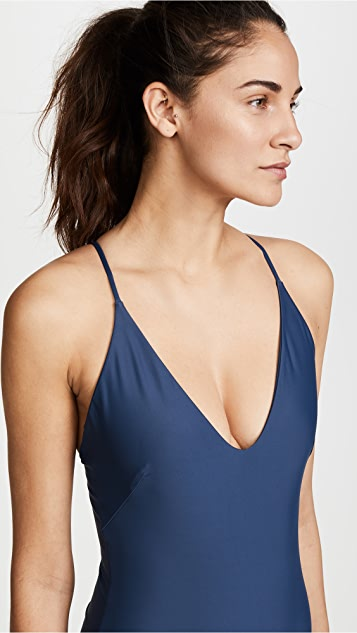 MIKOH Las Palmas Cross Back Swimsuit